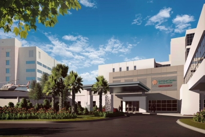 hospital renovation rendering